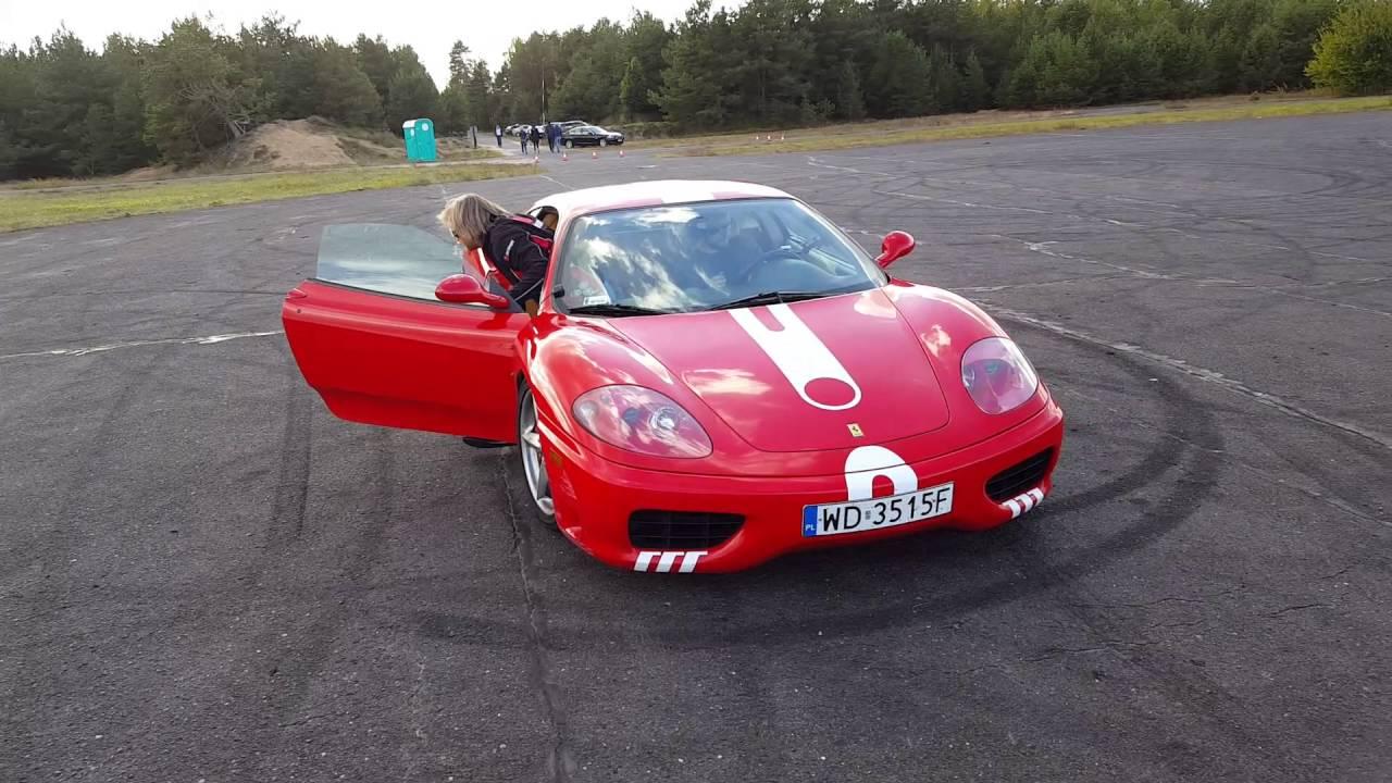 Ferrari 360 Modena Track Day - YouTube