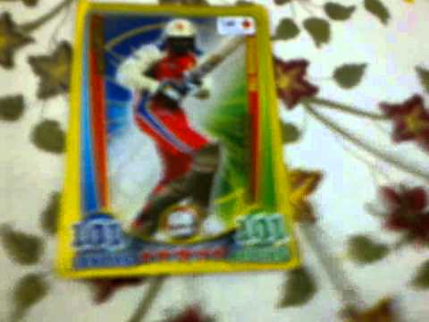 how to make a cricket card