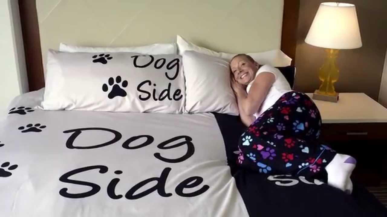 Dog Side My Side Duvet Cover Youtube
