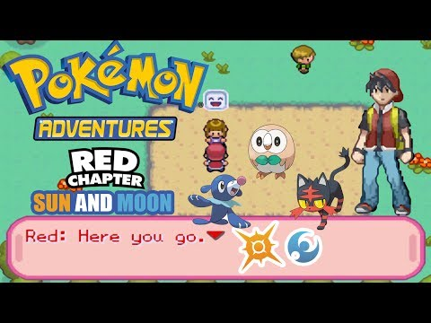 Pokémon Adventure-Red Chapter [Hack] 2017 GBA