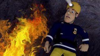 Strażak Sam Wielki pożar w jaskini!  Nowe odcinki  ⭐️ Kreskówki dla dzieci