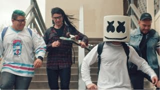 marshmello   moving on official music video