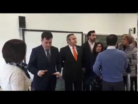 El conselleiro de Educación visita la ampliación de As Mercedes