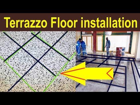 Terrazzo Flooring Installation Terrazzo Floor Terrazo