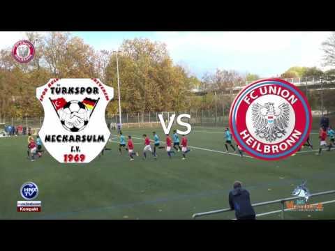 06.11.2016 Türkspor Neckarsulm vs FC Union Heilbronn