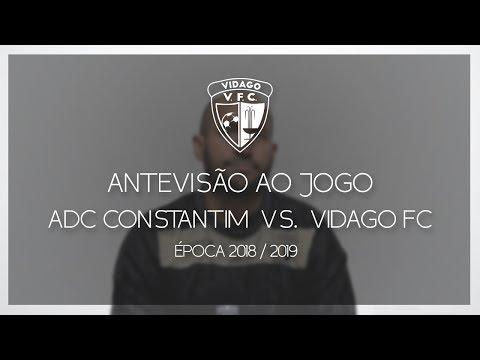 Antevisão ao Jogo - ADC Constantim vs. Vidago FC - 13 Janeiro [2018/2019] - Vidago FC