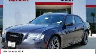2018 Chrysler 300 Cathedral City CA 41967R