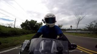 Yamaha YZF R3 縣道148,139 前置鏡頭視角