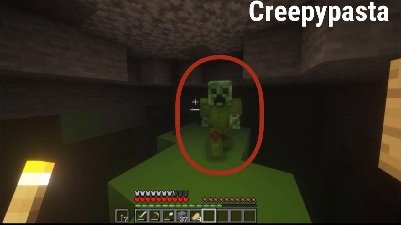 Minecraft CREEPYPASTA: The Creeper Infestation