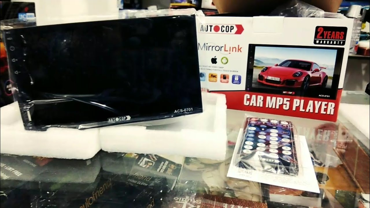 Autocop Touchscreen Stereo System Review Youtube