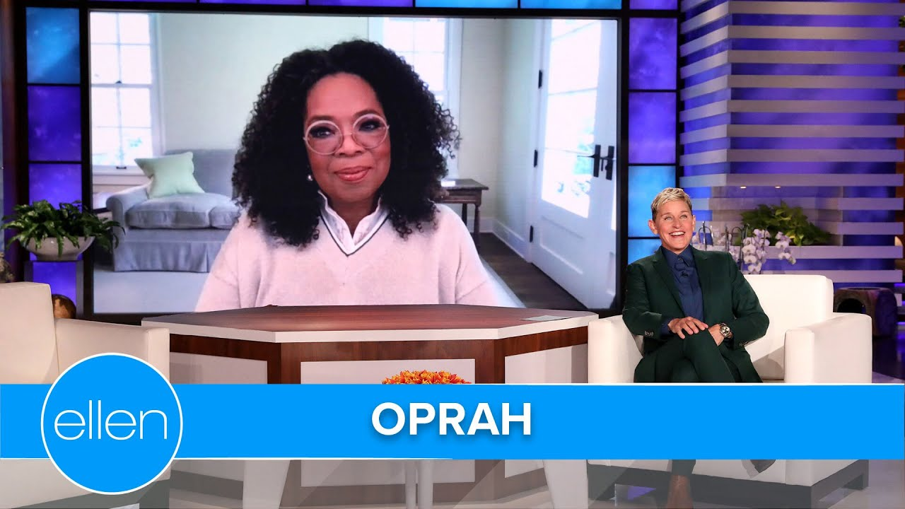 Oprah on Ellen's Goodbye and Working with Prince Harry
