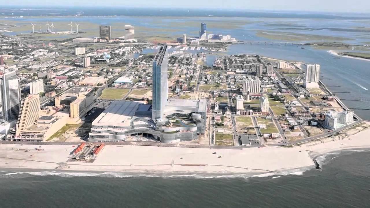 Beyond The Boardwalk Revel Beach In Atlantic City