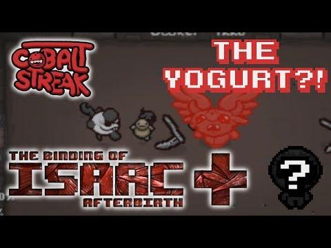 Afterbirth+ Random Streaks! 8-0 - The Yogurt?! - Cobalt Streak