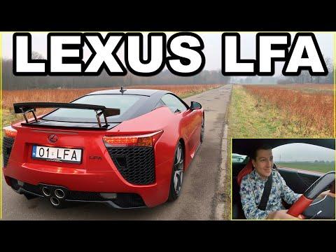Jeżdżę Lexusem LFA
