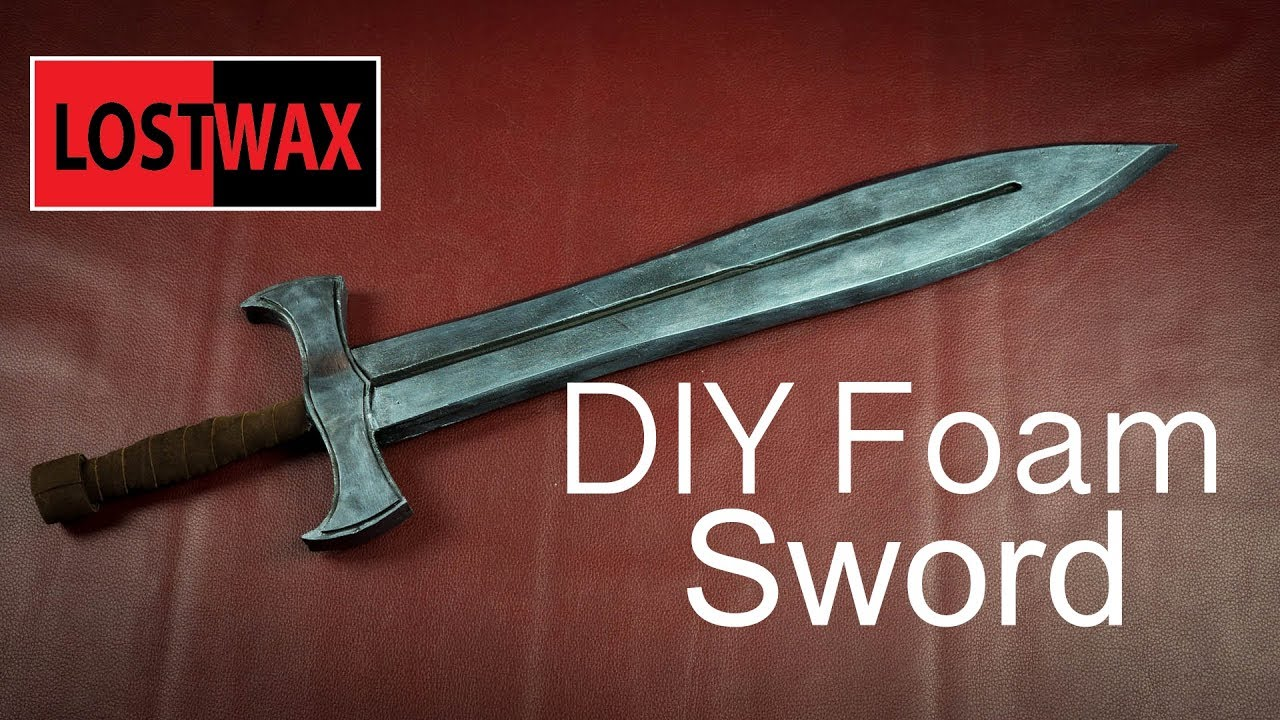 How To Make Foam Swords Cosplay Prop Ideas With Templates Not