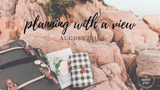 AUGUST 2018 TRAVEL VLOG | Planning with a View