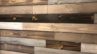 Super Easy Wood Accent Wall Idea (DYI Wood Plank Wall)