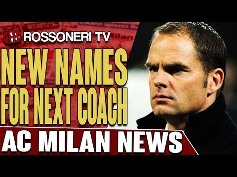New Names For Next Coach | AC Milan News | Rossoneri TV
