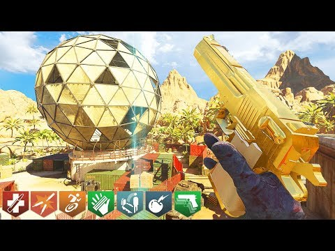 I completed the \'NEW\' Mw3 Dome Zombies Map! (Bo3 Custom Zombies Challenge)