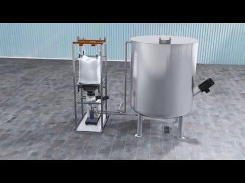 IKA CMX solid-liquid mixer - YouTube