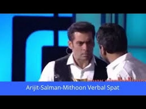Salman khan's biggest fight with Mithoon in awards show and Salman says Sorry to Mithoon