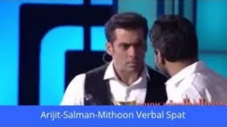 Salman Khan 39 S Biggest Fight With Mithoon In Awards Show And Salman Says Sorry To Mithoon