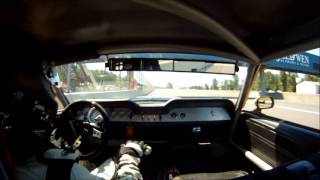 "Holman Moody ""FE"" 427 Mustang Wins Race at Portland Historic Races Corvette Anniversary"