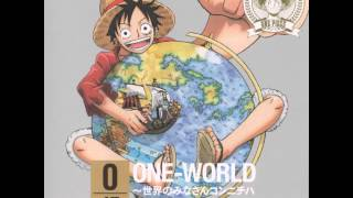 Monkey D. Luffy - ONE WORLD