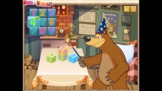 Игра кубики  Обзор игры Маша и медведь  Развивающая игра для детей  Masha and bear