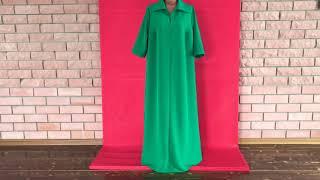 шью платье большого размера