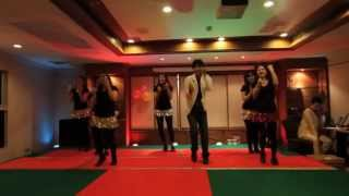 The Disco Song -- Bollywood Dance performance by Divine Yoga