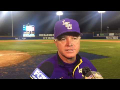 Paul Mainieri on LSU relievers after loss at UNO