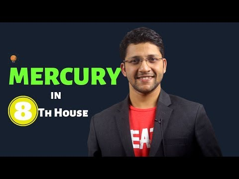 Mercury In 8th House In Vedic Astrology Birth Chart