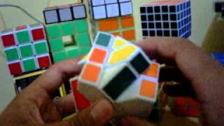 tutorial rubik square king atau fisher cube indonesia part 3 (leher pertama)