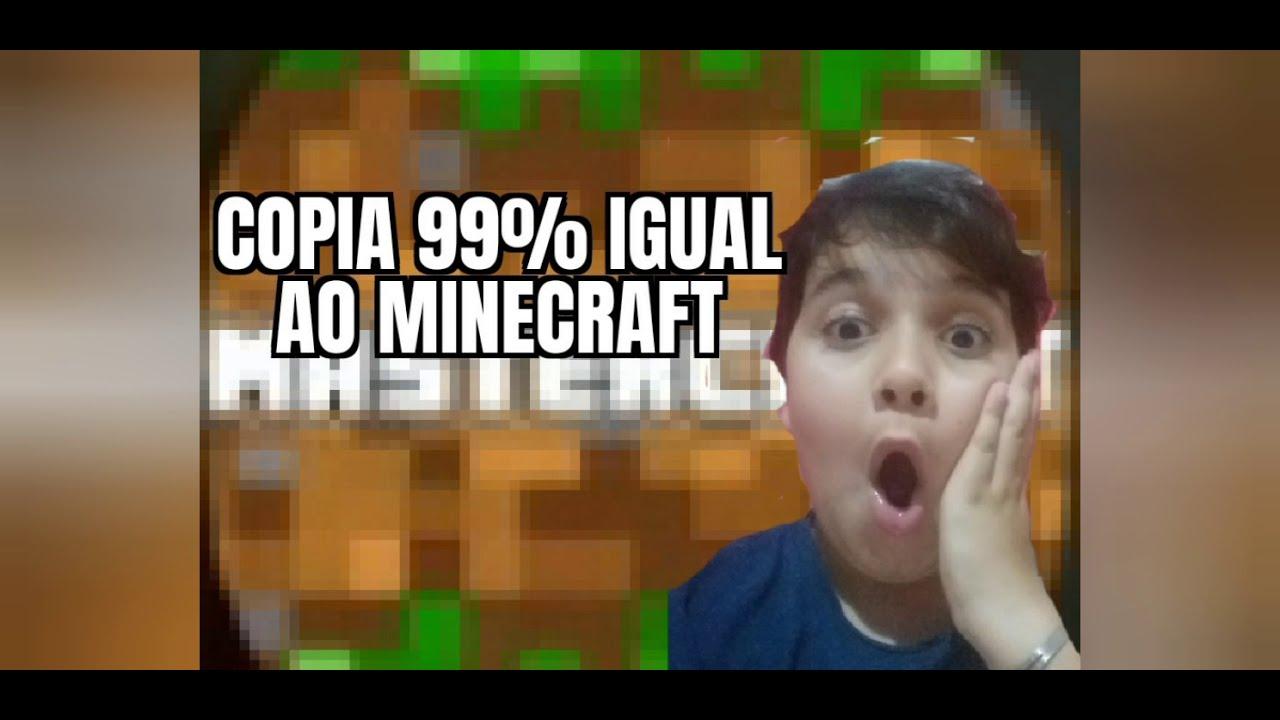 Download melhor copia do minecraft 99%igual ao minecraft