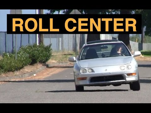 Roll Center Vehicle Body Roll Explained Youtube