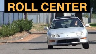Roll Center & Vehicle Body Roll - Explained