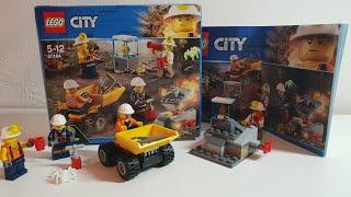 Lego City 60184 Bergbauprofis Bergbauteam Mining Team Speed Build Unboxing