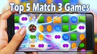 Top 5 Best Match 3 Games Online/Offline Android & IOS 2020