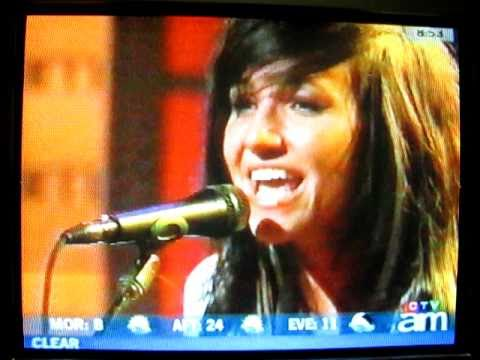 LIGHTS - Drive My Soul (live on Canada AM)