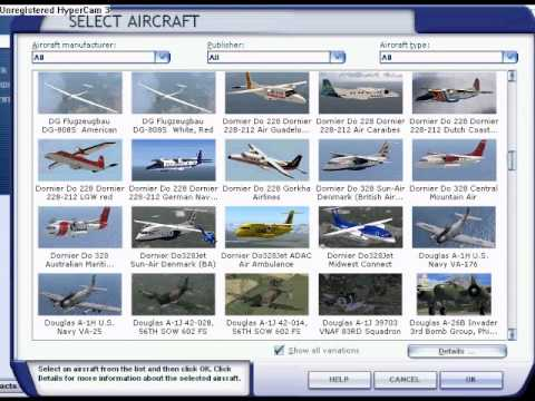 My FSX Planes: over 2,000 - YouTube