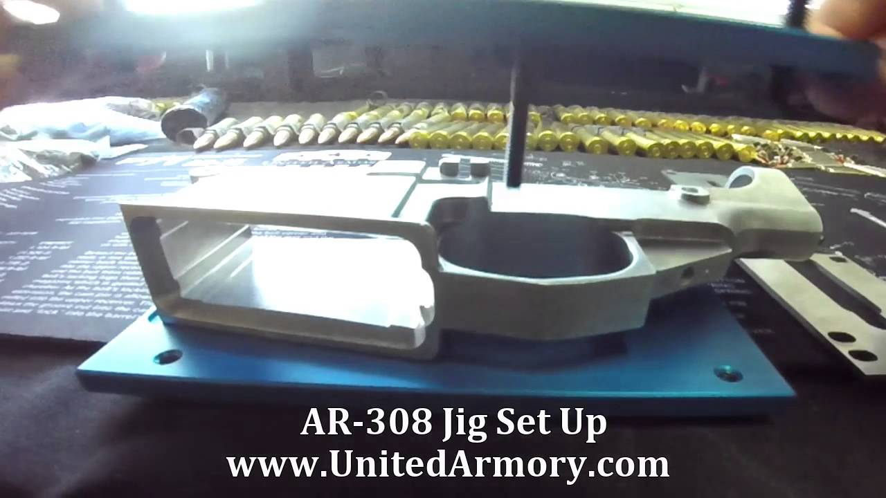 United Armory AR-308 Milling Jig Set Up