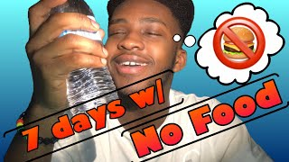 7 DAY WATER FAST (NO EATING FOR A WEEK)