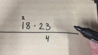 Gange med tocifrede tal