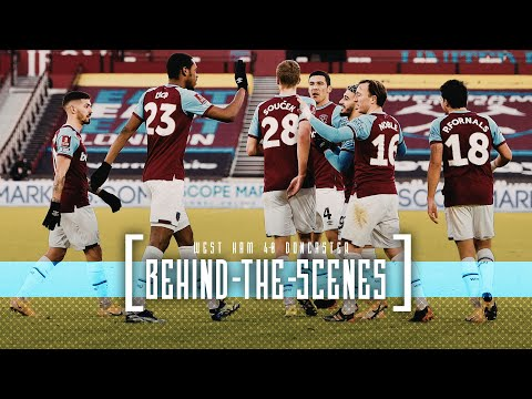 FA CUP BEHIND THE SCENES | WEST HAM UNITED 4-0 DONCASTER ROVERS