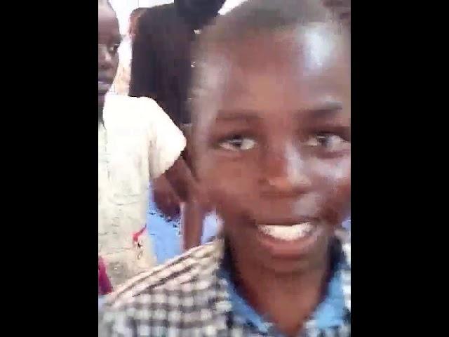Children Signing to Jesus  - Kibera Slum Kenya
