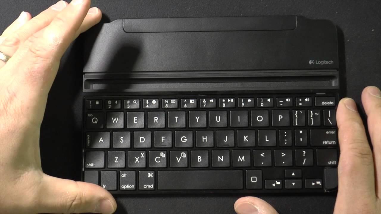 logitech ultrathin keyboard folio instructions