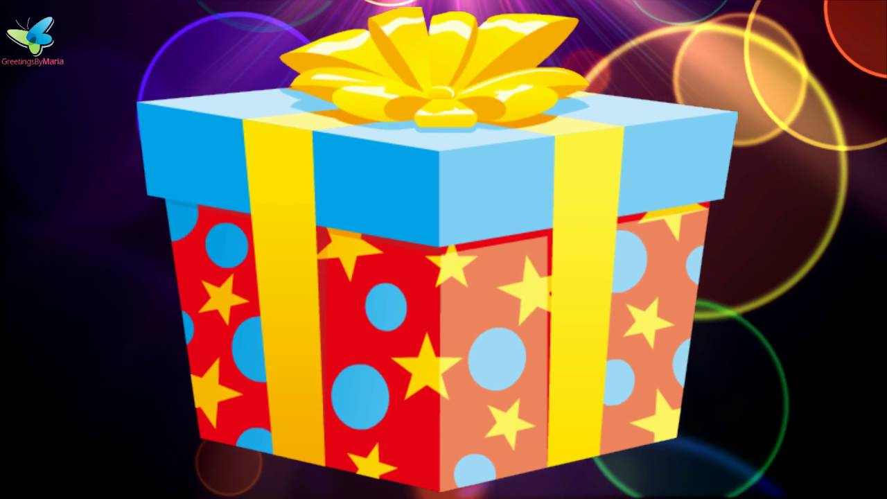 Colorful happy birthday wishing video youll love it youtube m4hsunfo