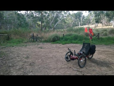 Aldgate South Australia to Onkaparinga River Swimming Hole - Recumbent Trike Ride Tour