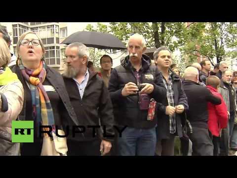 Spain: Basque demonstrators demand independence